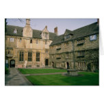 Founded in 1957, St. Edmund Hall's history dates b Card