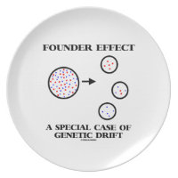 Founder Effect A Special Case Of Genetic Drift Plate