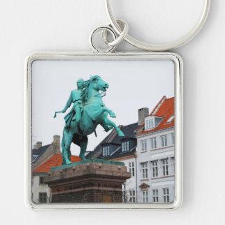 Founder of Copenhagen Absalon - Højbro Plads Keychain
