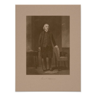 Founding Father Samuel Adams Poster