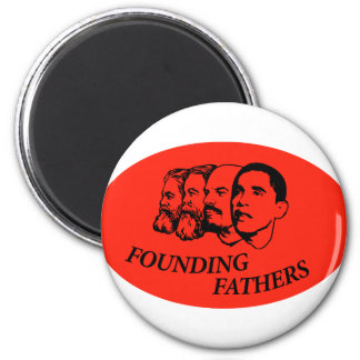 Founding Fathers 2 Inch Round Magnet