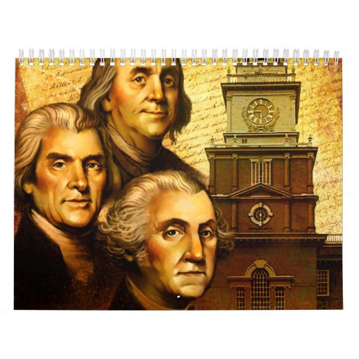 Founding Fathers Wall Calendars