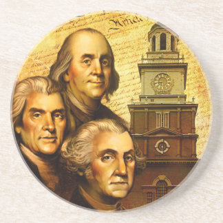 Founding Fathers Drink Coaster