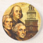 Founding Fathers Drink Coasters