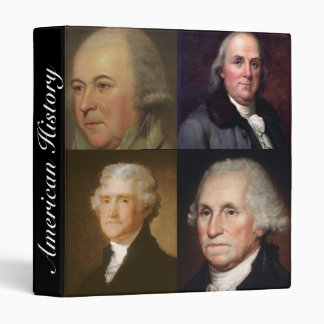 Founding Fathers History Binder