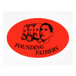 Founding Fathers Letterhead Template