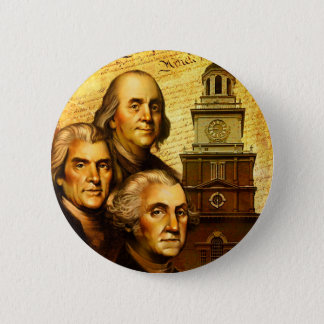 Founding Fathers Pinback Button