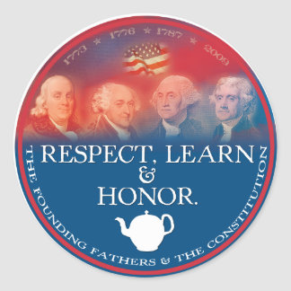 Founding Fathers sticker