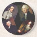 Founding Fathers Unique Coasters