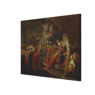 Founding of the Order of the Black Eagle Gallery Wrap Canvas