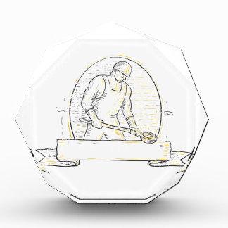 Foundry Worker Steel Ladle Miono Line Award
