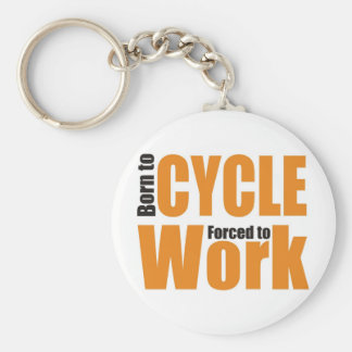 Fount ton cycle forced ton work keychain