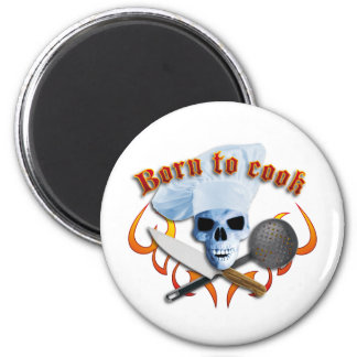 Fount ton of Cook B Magnet