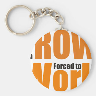 Fount ton row forced tons work keychain
