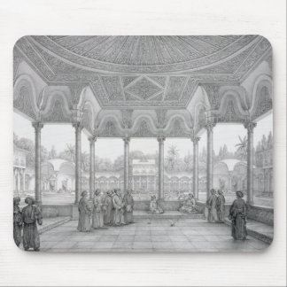 Fountain and Kiosk of the Garden of Choubrah, from Mouse Pad