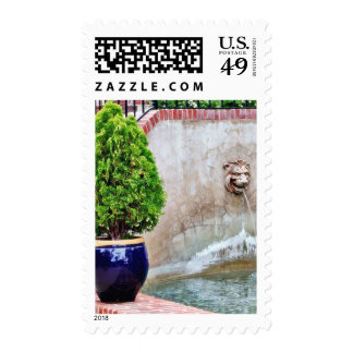Fountain At Balboa Park Stamps