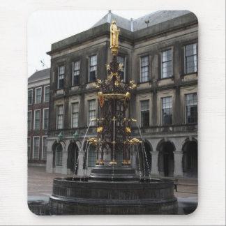 Fountain at Binnenhof Mouse Pad