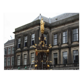 Fountain at Binnenhof Postcard