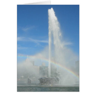Fountain at the Point Greeting Card