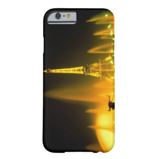 Fountain at the world famous Eiffel Tower Paris Barely There iPhone 6 Case