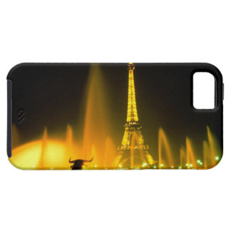 Fountain at the world famous Eiffel Tower Paris iPhone SE/5/5s Case