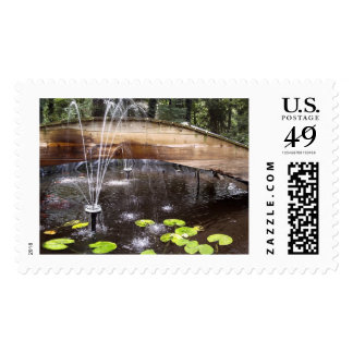 Fountain Bridge Postage Stamp