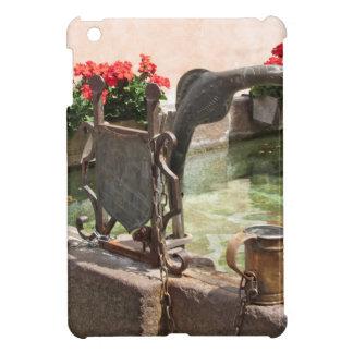 Fountain, Castelrotto (Kastelruth), Italy iPad Mini Covers