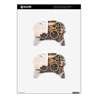 Fountain, Castelrotto (Kastelruth), Italy Xbox 360 Controller Decal