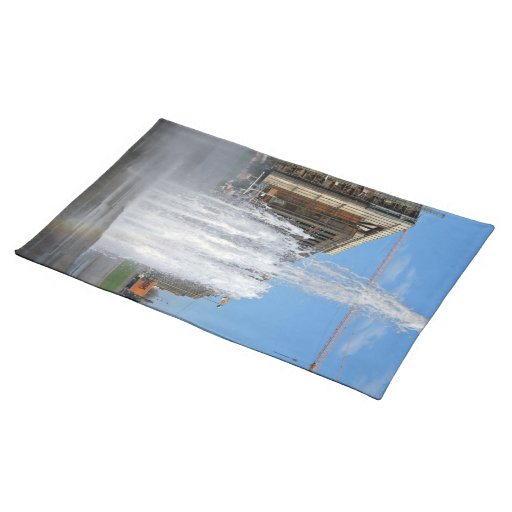 Fountain Cloth Placemat