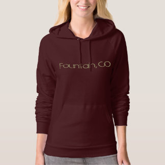 Fountain, CO Hooded Pullover