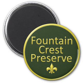 Fountain Crest Preserve Magnet