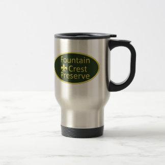 Fountain Crest Preserve Oval Coffee Mug