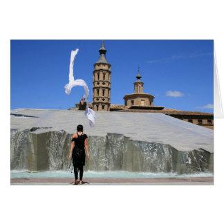 Fountain Dancing Greeting Card