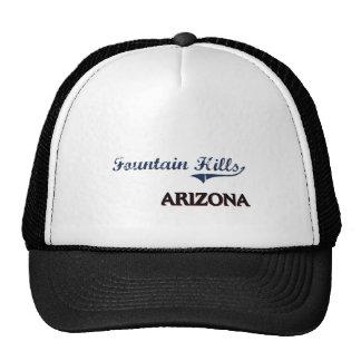 Fountain Hills Arizona City Classic Trucker Hats