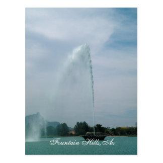 Fountain Hills,Az Postcard
