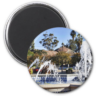 Fountain In Balbao Park San Diego Magnet
