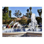 Fountain In Balbao Park San Diego Postcards