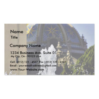 Fountain In Balboa National Park Business Cards