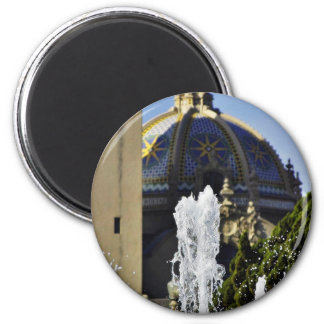 Fountain In Balboa National Park Refrigerator Magnets