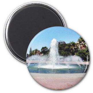 Fountain In Balboa Park Refrigerator Magnet