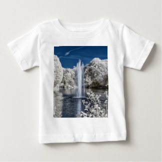 Fountain in Infrared Baby T-Shirt