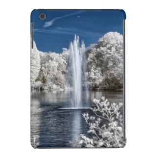 Fountain in Infrared iPad Mini Cover