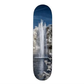 Fountain in Infrared Skateboard Deck