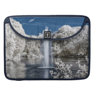 Fountain in Infrared Sleeve For MacBook Pro