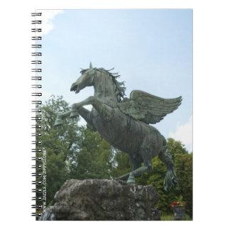 Fountain in Mirabell Gardens in Salzburg Notebook