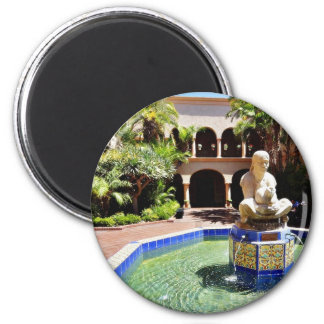 Fountain In The Courtyard Of The House Of Hospital Fridge Magnets