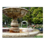 Fountain in the Park Post Cards