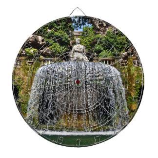 Fountain in Villa D'Este Dartboards