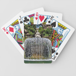 Fountain in Villa D'Este Bicycle Playing Cards