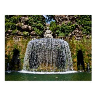 Fountain in Villa D'Este Postcard